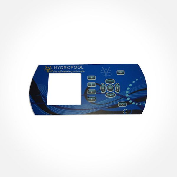 K600 Displayetikett Swimspa - Gecko