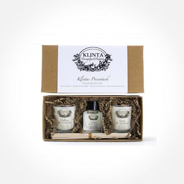 Klintas Presentförpackning med doft av frukt