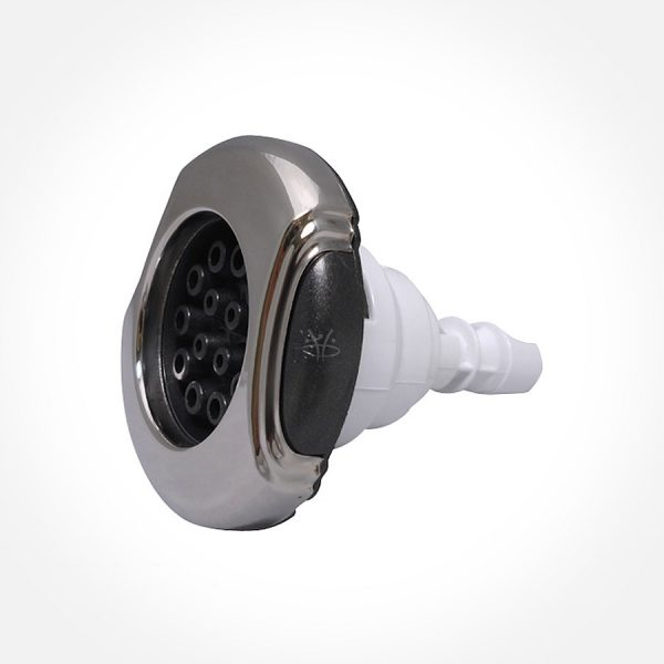 Poly Jet Multi Massage - Rifled Stainless Steel