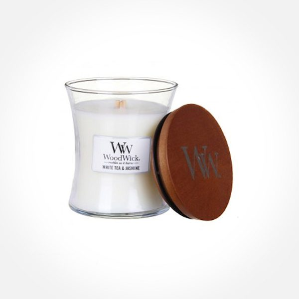 WoodWick White Tea & Jasmine - Medium